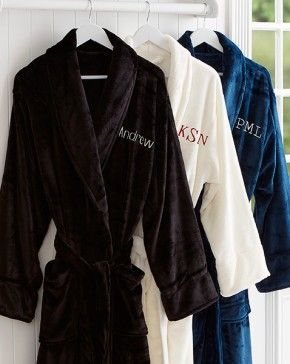 "Just For Him Embroidered Luxury Fleece Robe - Gift idea for groomsmen - This ""Just For Him Embroidered Luxury Fleece Robe"" are super soft to touch and are always a favorite! For bedroom, bath or casual lounging, wrap yourself in pure comfort! The perfect gift for groomsmen! - $52.45"