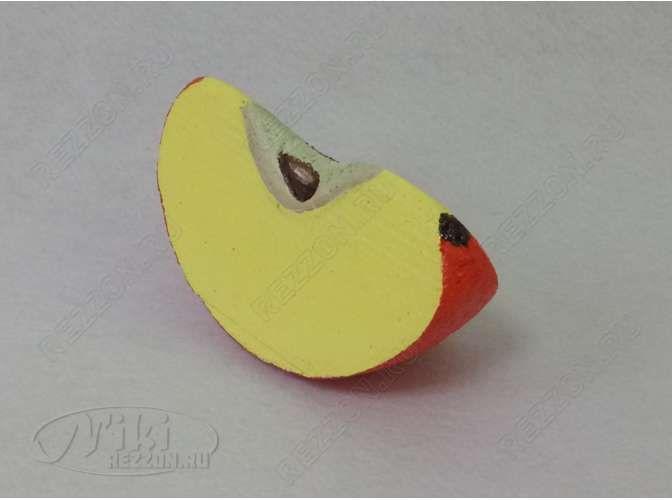"""Декор - муляж """"Долька яблока"""" d 70см (1шт)"""