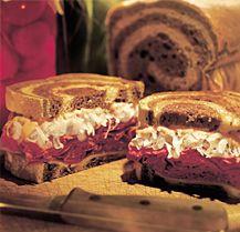 Ahhhh.  Ruben sandwiches plus more recipes made with kraut.
