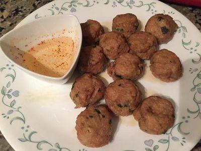 Thai Chicken Balls Recipe