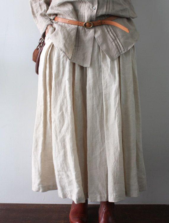 Wear a belt to ease the frumpy factor - [Envelope Online Shop] Tina Lisette bottoms