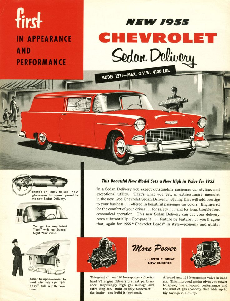 100 best Chevy Car Ads images on Pinterest | Vintage cars, Cars and ...