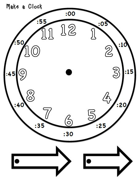 Telling Time Make You Own Clock 2nd Grade Henings Teachers Pay Learning Learn To Tell Teaching