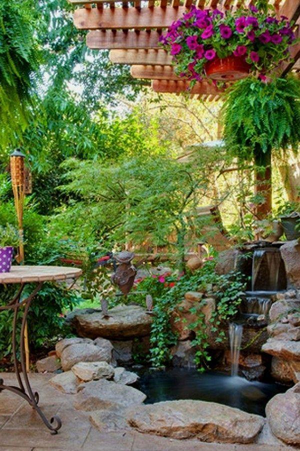 10 Einfache Diy Gartenideen Die Sie Erstellen Konnen Um Ihrem Zuhause Schonheit Zu Verleihen Tropische G Einfache Diy Gartenideen Garten Ideen Garten