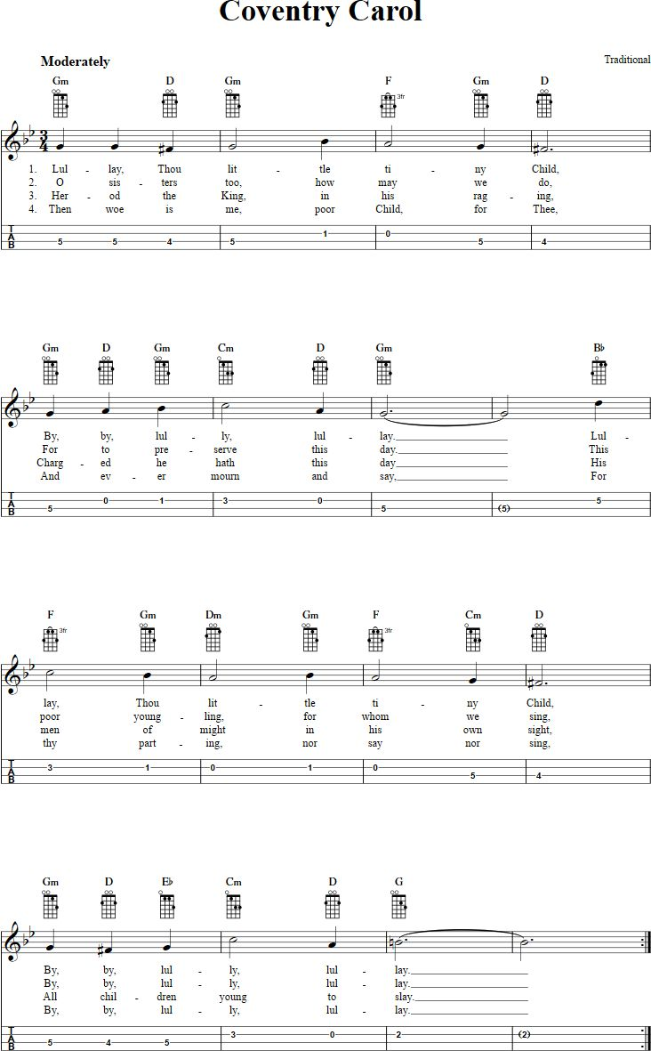 Best 25 coventry carol ideas on pinterest free sheet music free mandolin sheet music for coventry carol with chord diagrams lyrics and tablature this music will also work on tenor banjo in gdae tuning hexwebz Image collections
