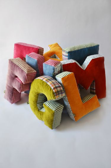 cushion letters