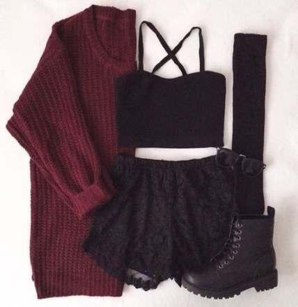 22+ Trendy Fashion Edgy Grunge Hipster Shorts - #fashion #grunge #hipster #shorts #trendy -