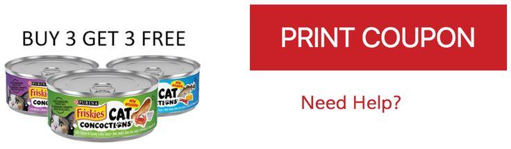 Canadian Coupons: Buy 3 Get 3 FREE of Purina Friskies Cat Concoctions http://www.lavahotdeals.com/ca/cheap/canadian-coupons-buy-3-3-free-purina-friskies/193837?utm_source=pinterest&utm_medium=rss&utm_campaign=at_lavahotdeals