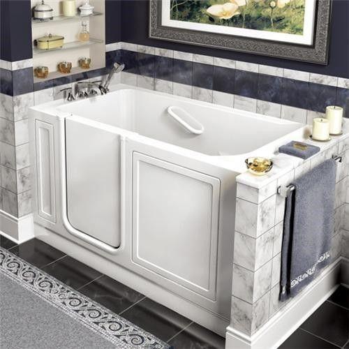 American Standard 2651.110.W Walk In Whirlpool tub