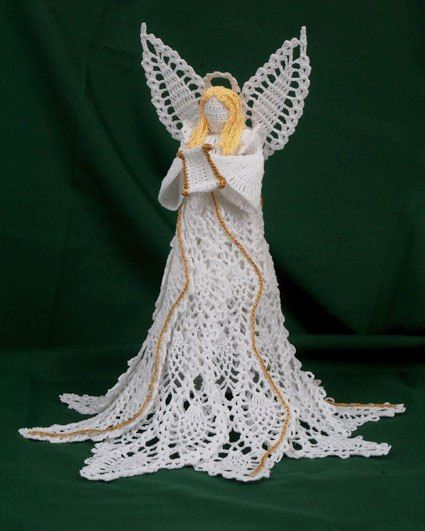 Crochet Angel Baptism Gift Christmas Lace Angel Ornament Tree: Best 25+ Pineapple Angel Pattern Ideas On Pinterest