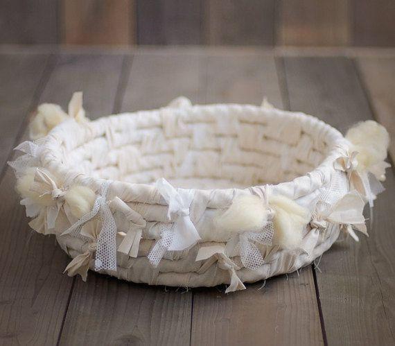 Cielo HERMOSO nido cesta, apoyo de foto de nido de recién nacidos. prop foto recién nacido, recién nacidos accesorios, prop de fotografía, nido de tela