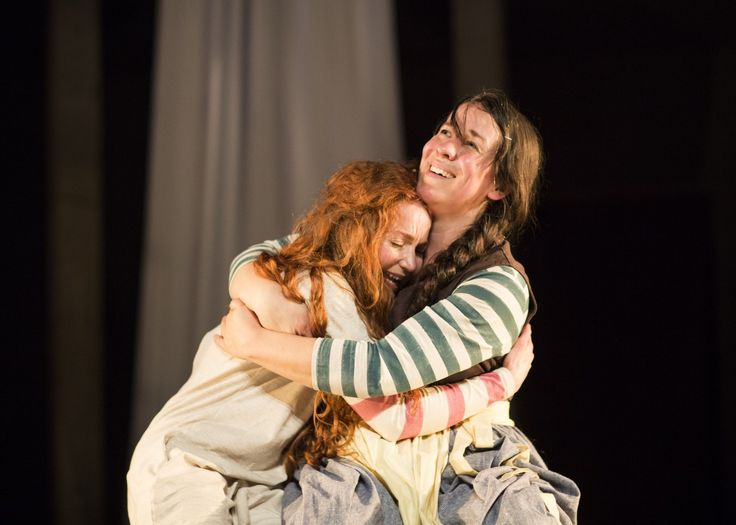 Phoebe Thomas as Hetty and Sarah Goddard as Ida. Photo by Donald Cooper.  Buy your tickets for Hetty Feather Live here bit.ly/1MQDZeA