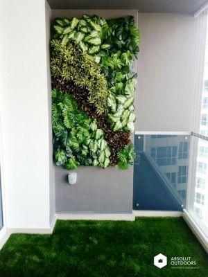 Artificial Green Wall - Absolut Outdoors