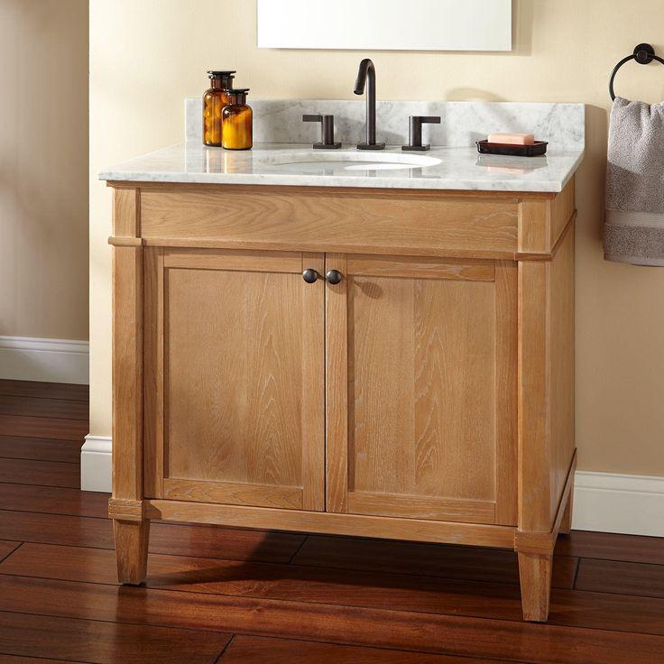 30 Quot Bastian Teak Vessel Sink Vanity Rustic Brown Sinks