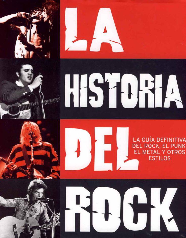 #CineMúsicaTeatro LA HISTORIA DEL ROCK - Mark Paytress #Parragón