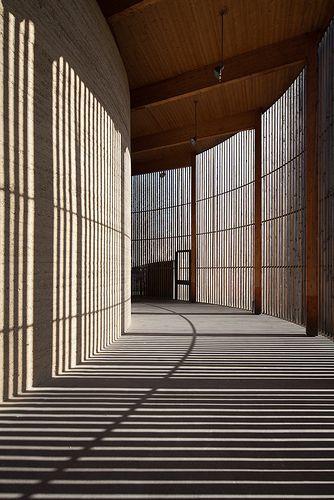 architecturepastebook:  CHAPEL OF RECONCILIATION - BERLIN (by Piotr Krajewski)