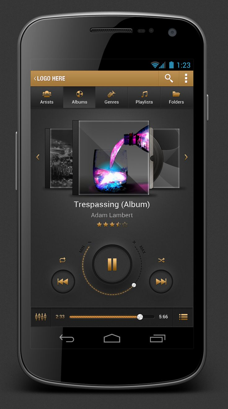 Android Music Player App | #ui
