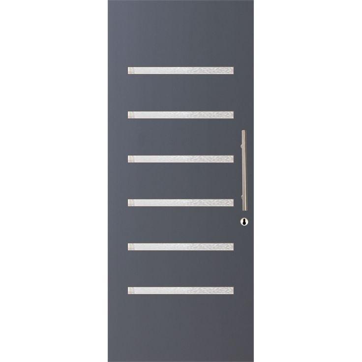 Hume Doors & Timber 2040 x 820 x 40 Verve Entrance Door Unglazed