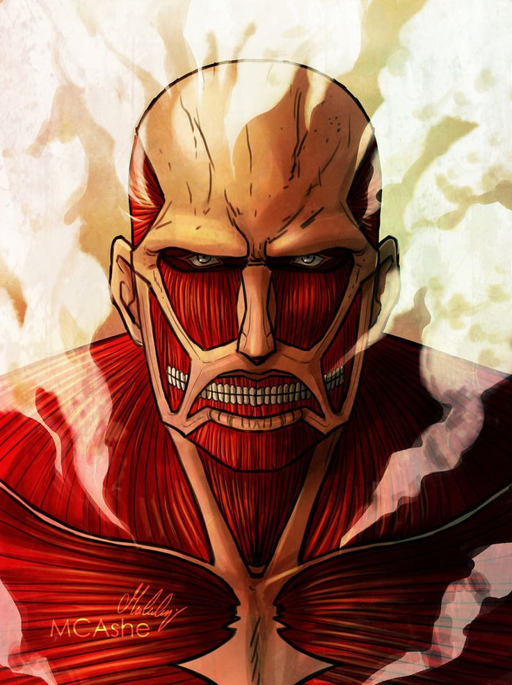 Colossal Titan artwork by MCAshe
