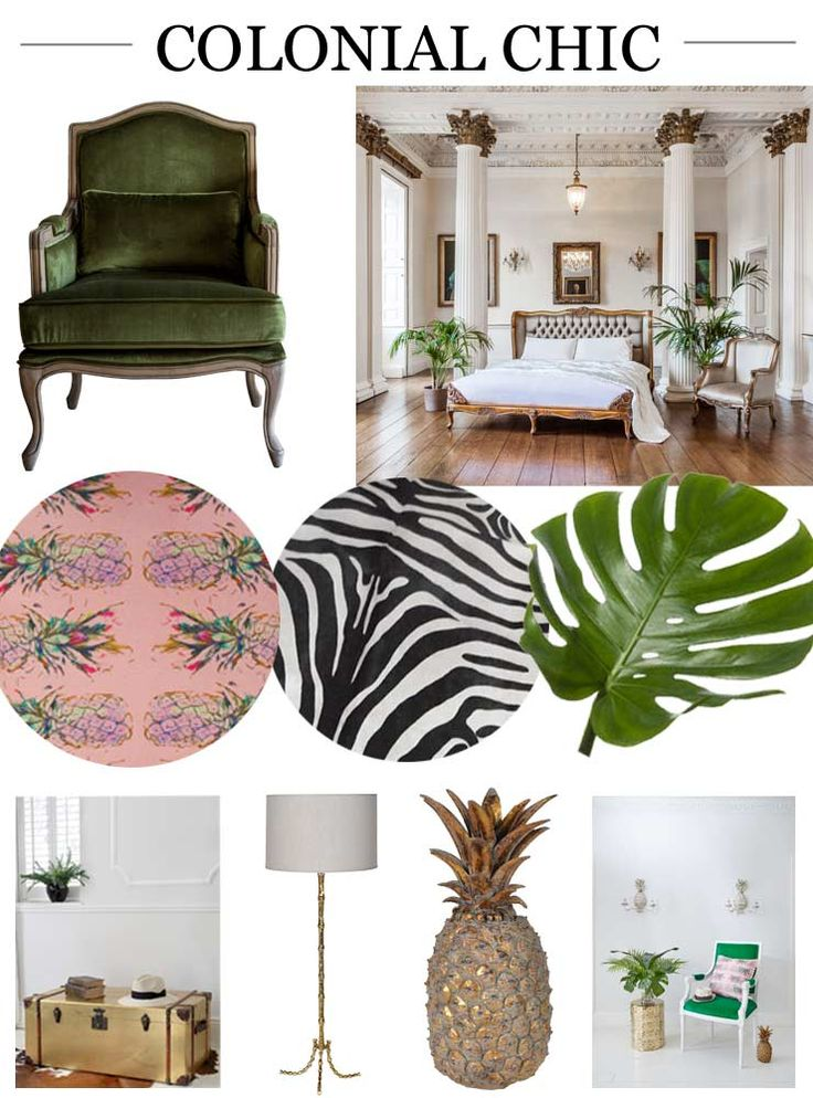 The French Bedroom Company Blog, Summer Trends for your Home 2016 Trend Report, Colonial Chic tropical trend