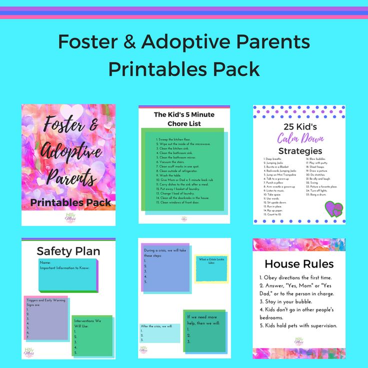 Are you a foster or adoptive parent? Here are foster and adoptive parent printables with helpful resources to parent children who have experienced trauma.