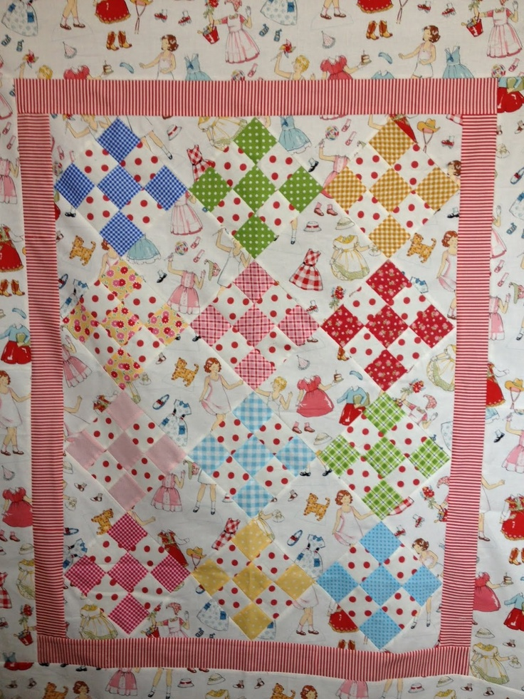 247 best A QUILT 9 PATCH images on Pinterest | Dr. who, Gifts and Html : 9 patch baby quilt pattern - Adamdwight.com