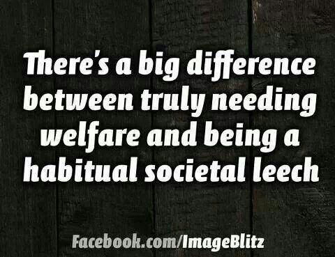 And we have a society full of leeches Welfare queens and kings that bleed America dry. Get rid of it!  Corporation and social welfare!