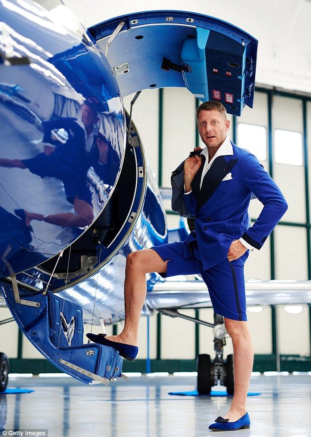 Lapo Elkann, showing what life is like as an heir to the Fiat empire