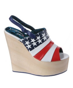 God Bless the USA...and Irregular Choice for making this shoe!