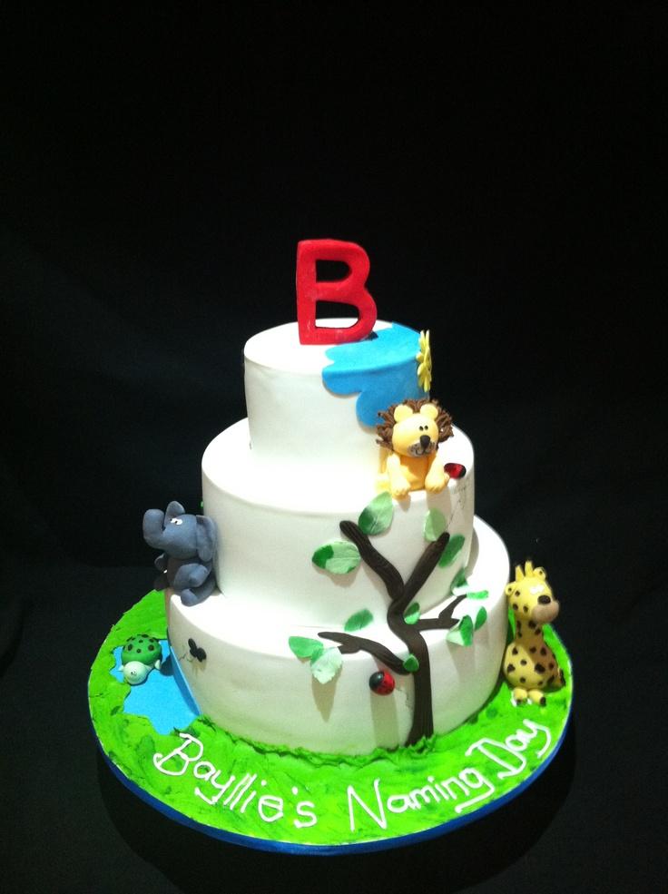 Naming day cake