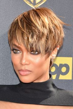 pixie cut for african american women - Google Search