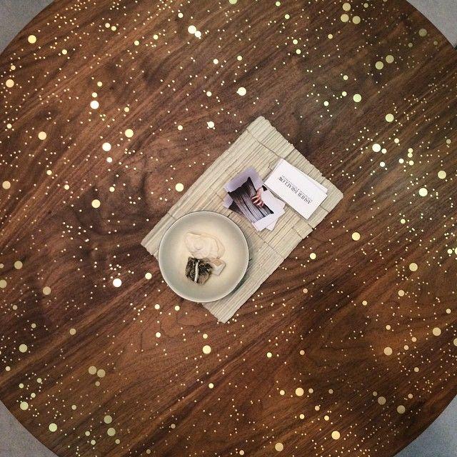 Beautiful #coffeetable by #asherisraelowstudio. #furniture #interiors #interiordesign #adhds2015