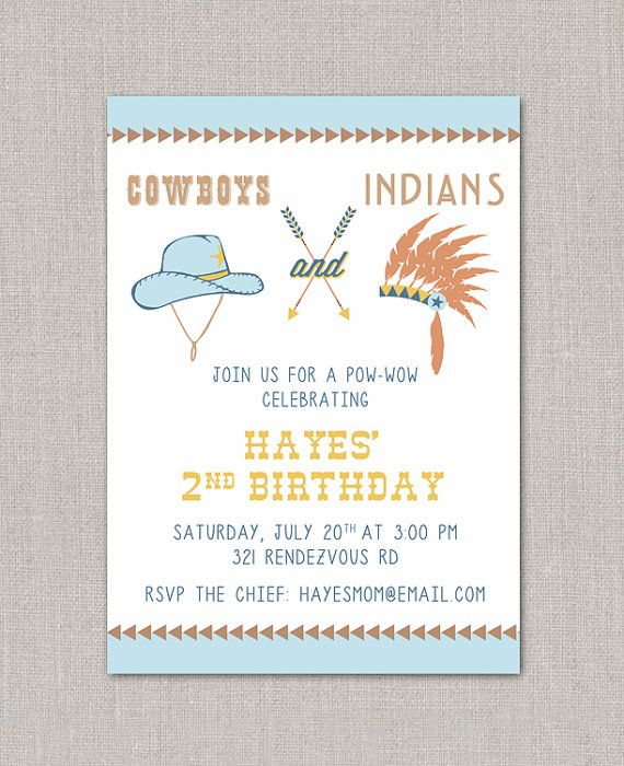 11 best images about Cowboys and Indians Party – Cowboy and Indian Party Invitations
