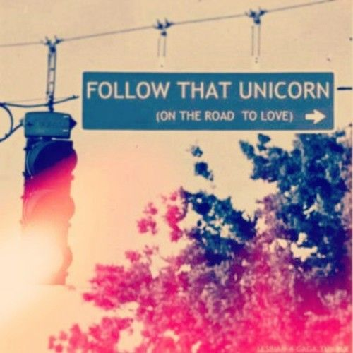 follow that Unicorn (on the way to Love)