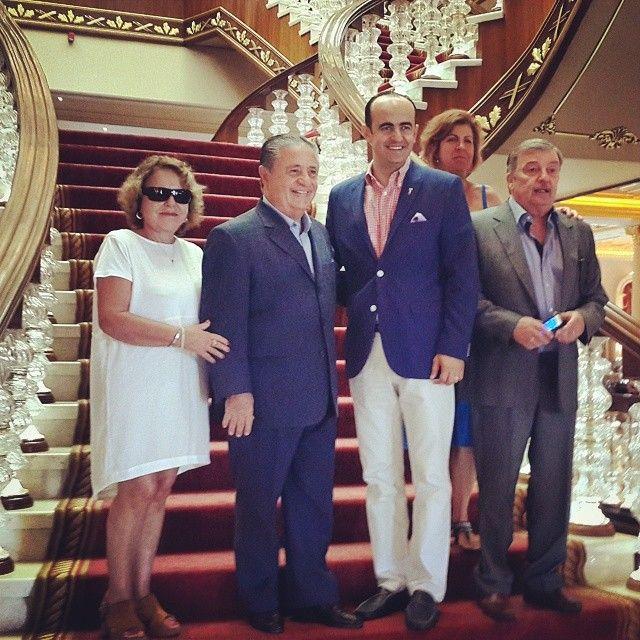 "Ex president of Argentina ""Eduardo Duhalde"" #specialguest #politician #duhalde #argentina #expresident #vacation"