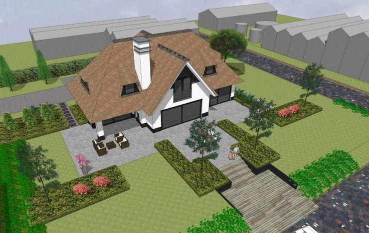 113 best huis buitenkant stijl images on pinterest house for Architecten moderne stijl
