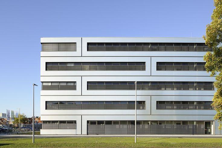 ALUCOBOND (Projectreferentie) - Mediating Elements – Technopark Siemens - architectenweb.nl