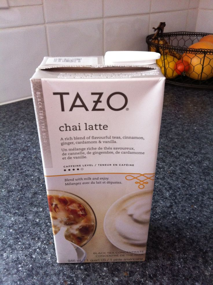 starbucks chai latte