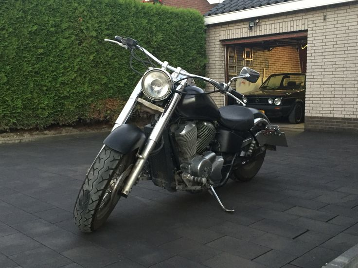 Honda shadow and golf mk1 cabrio