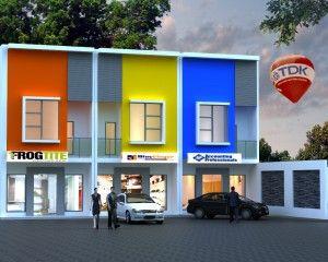 Ruko Minimalis 2 Lantai 377 300x240 Desain Arsitektur Ruko Minimalis 2 Lantai Terbaru