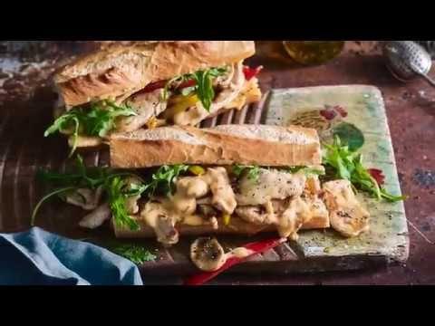 Philly Chicken Steak Sandwich