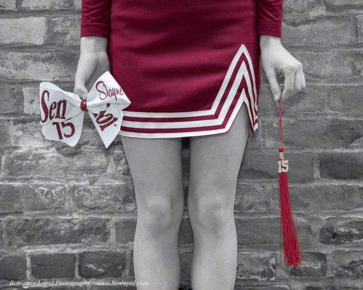 Cheerleading Senior Pictures