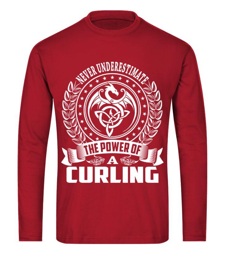Never Underestimate CURLING curling t shirt,usa curling shirt,curling sport t shirt,curling shirt,