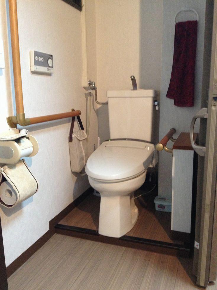 公団タイプのマンショントイレを車いす利用
