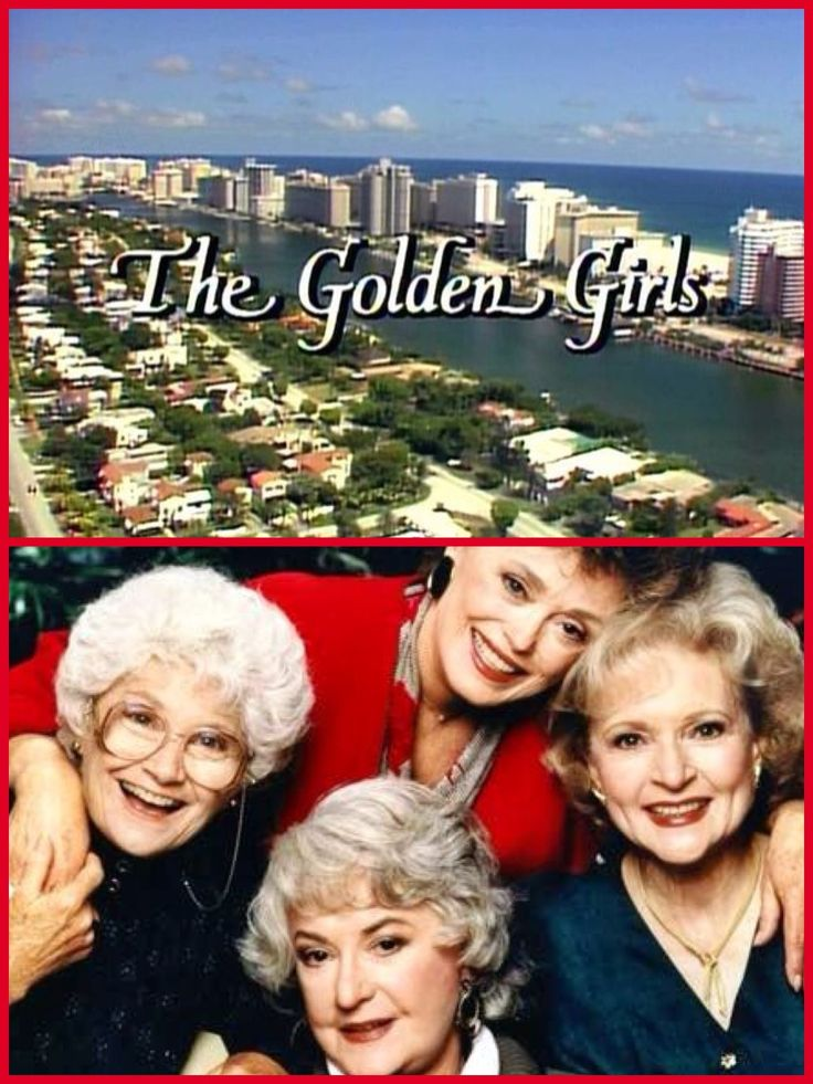 "The Golden Girls (1985-1992) - Four mature women live together in Miami and experience the joys and angst of their golden years. Strong-willed Dorothy, spacey Rose, lusty Southern belle Blanche and matriarch Sophia, Dorothy's mom, occasionally clash but are there for one another in the end. The show's theme song is titled ""Thank You for Being a Friend."""
