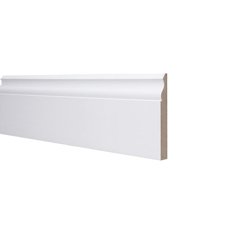 Ogee Skirting Board MDF White Primed 18mm x 144mm x 4.4m £10.74