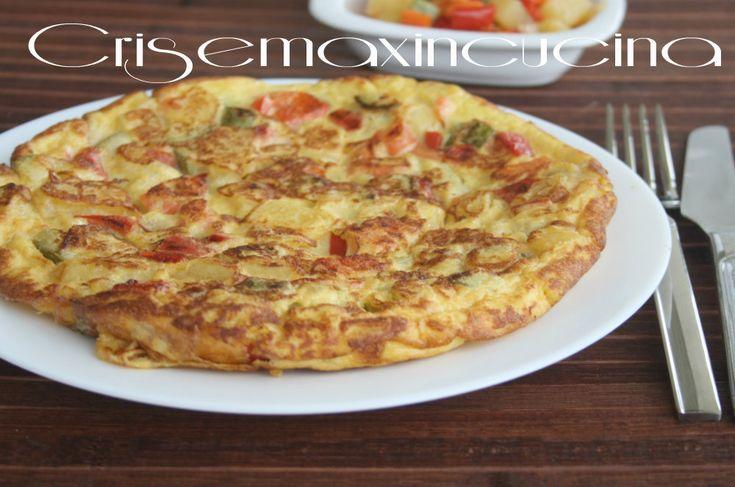 Frittata di verdure miste, ricetta veloce | Cris e Max in cucina