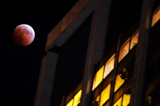 """Last Lunar Eclipse Until 2007 Reveals """"Blood Moon"""""""