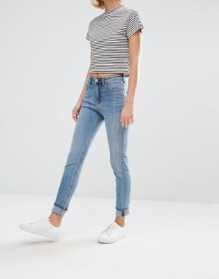 Weekday – Thursday – Skinny Jeans mit hoher Taille