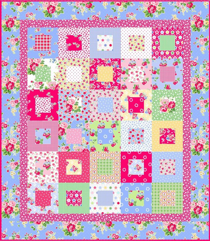 .!: Pam Kitty Mornings, Mornings Quilts, Girls Quilts, Beautiful Quilts, Quilts Sewing, Squares Dance, Sewing Quilts Etc, Kitty Fabrics, Quilts Ideas